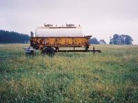 réservoir herbicide tank