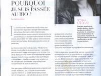 Sophia Lakhdar dans Féminin bio - Première dauphine de Miss bio 2015