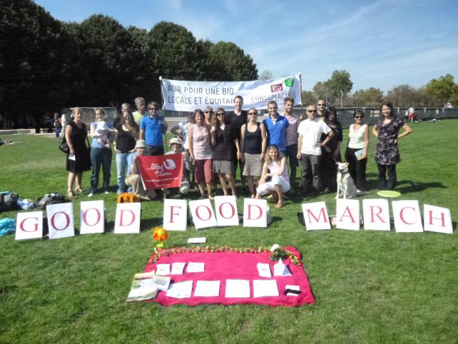 association bioconsomacteurs ile de france - good food march