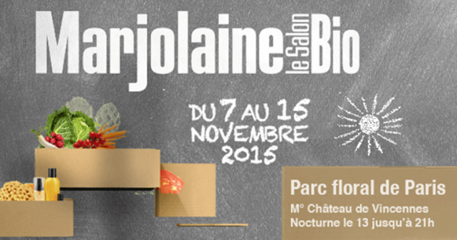 Retour sur le salon marjolaine 2016 bio consom 39 acteurs for Salon bio paris 2016