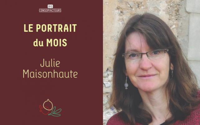 Portrait du mois : Julie Maisonhaute