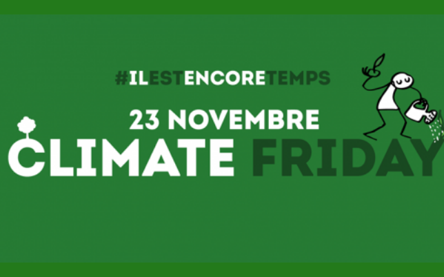 Le Black Friday, contre-exemple écologique. Agissez le 23 novembre prochain avec Climate Friday
